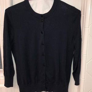 NWT JCrew Claire cardigan in Navy
